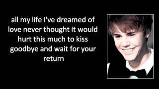 Watch Justin Bieber Come Home To Me video