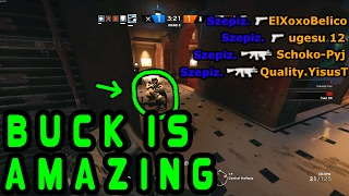 THIS IS WHY I LOVE BUCK - Rainbow Six Siege Funny & Epic moments