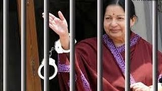 Jayalalitha Arrested Video 2014 (Live)  - 4 years Jail & Rs.100 Cr fine Part 1 of 3