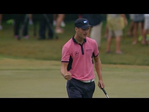 Martin Kaymer's clutch 28-foot par save on No. 17 at THE PLAYERS