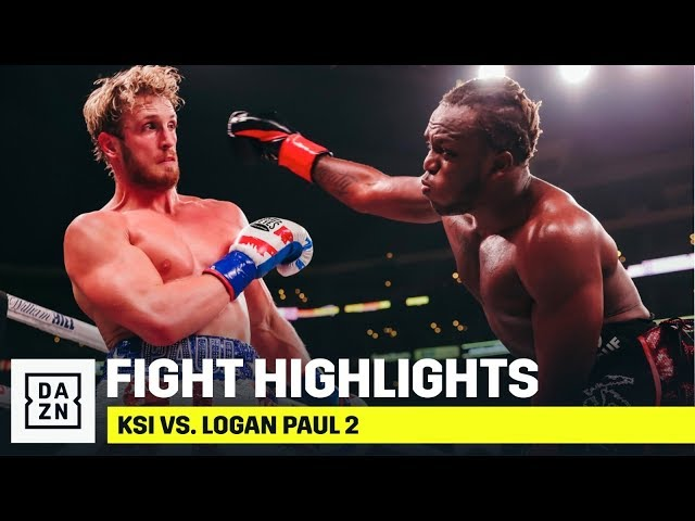 HIGHLIGHTS | KSI vs. Logan Paul 2 thumbnail