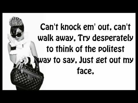 Lily Allen - Knock Em' Out (LYRICS) [HD]
