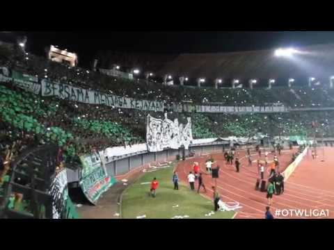 PERSEBAYA vs PSIM (GREEN NORD tribun) (Full 1st half)