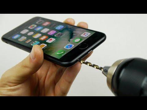 Los usuarios del iPhone 7 están perforando sus celulares por una causa