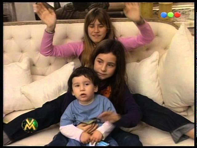 Saludo por el día del padre, Tinelli de parte de sus hijos - Videomatch