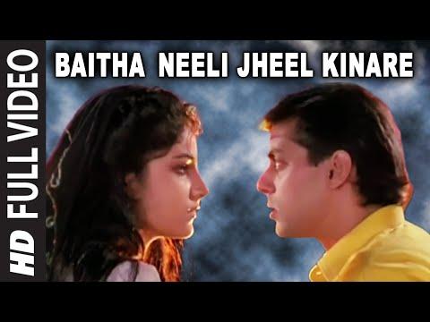 Baitha Neeli Jheel Kinare Full HD Song | Kurbaan | Salman Khan...