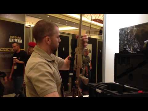 SHOT Show 2013 - Accuracy International AX PSR Takedown Rifle
