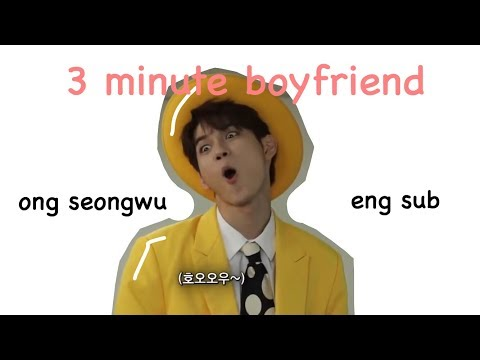 [ENG SUB/CC] WANNA ONE Ong Seong Wu 3 Minute Boyfriend | SNL 9 KOREA