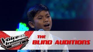 Andrean 34 Cinta Satukan Kita 34 The Blind Auditions The Voice Kids Indonesia Season 2 Gtv 2017