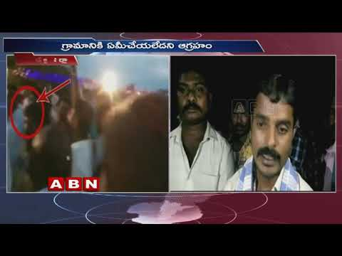 'Go back' slogans against TRS Rasamayi Balakishan at Sircilla district