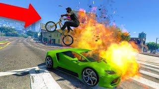 EXTREME BMX BIKE PARKOUR! *FUNNY!*   GTA 5 THUG LIFE #226