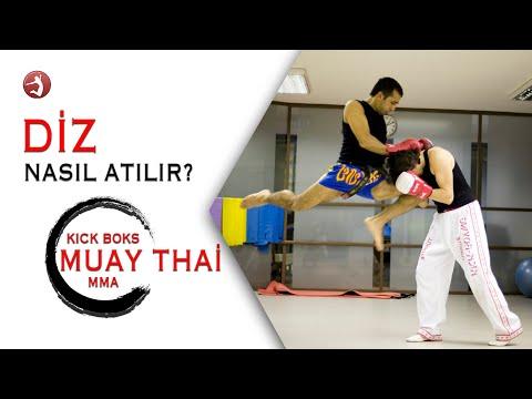 Muay Thai/ Kick Boks Teknikleri #07 Diz Nasıl Atılır?