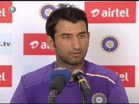 India vs England 2012, first Test, Ahmedabad: Cheteshwar Pujara on scoring double ton