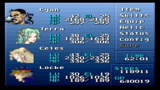 Final Fantasy VI (III) - Brave New World Mod + Nowea Difficulty Patch: Episode 53.