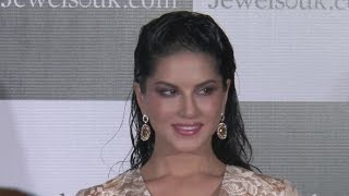 Sunny Leone At Unveiling Of Jewelsouk Com New Brand Ambassador