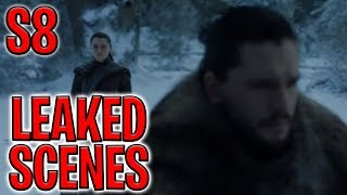 Season 8 Episodes 1-4 Leaked Scenes ! | Game of Thrones Season 8