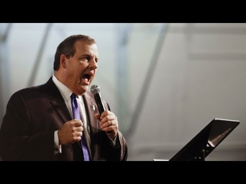 "Gov. Chris Christie enters race, pleading ""truth"""