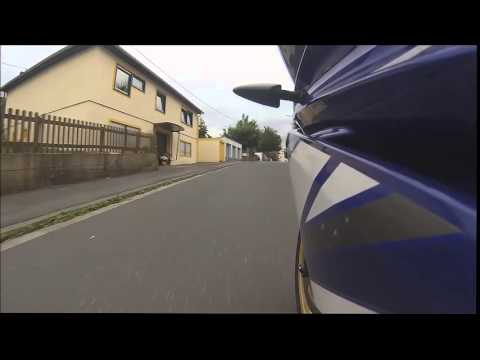 Yamaha YZF R125 GoPro HD Hero 3 Silver Edition Test Drive