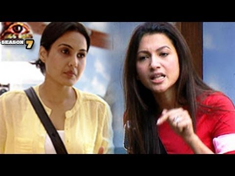 Gauhar IGNORES Kamya Bigg Boss 7 5th December 2013 FULL EPISODE