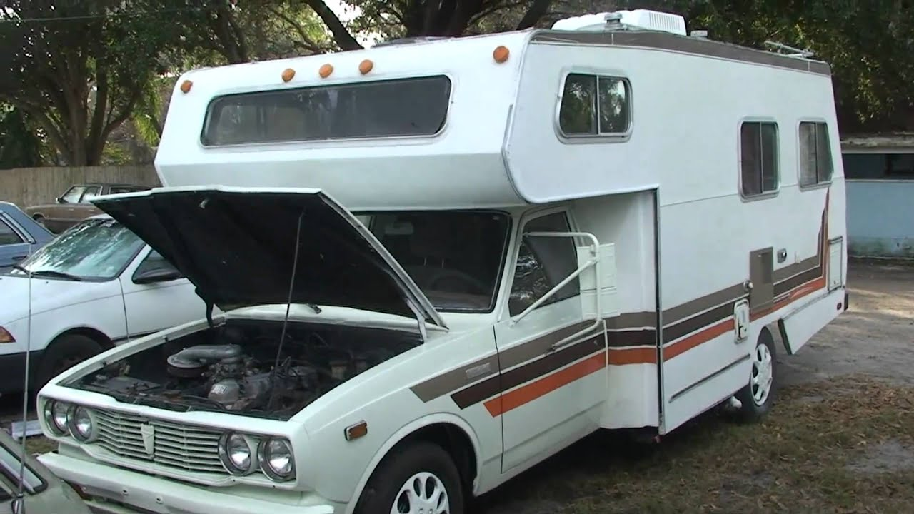 1978 Toyota Motorhome 20r 4 Cilinder Motor 4 Speed On