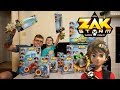 ALL Zak Storm Super Pirate Toys We Got Them ALL Surprise Blind Bags Included mp3