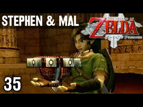 Stephen & Mal: Zelda Twilight Princess #35