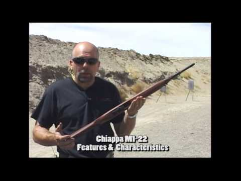 Chiappa M1-22 rifle overview