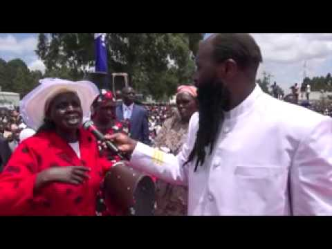 ELDORET  REVIVAL MEETING APRIL 19, 2014 - PART 1 - Prophet Dr. Owuor