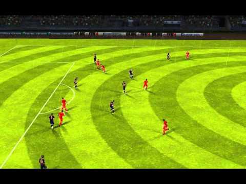 FIFA 14 Android - Hamburg Borussia VS FC Barcelona