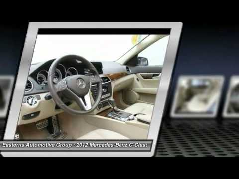 2012 Mercedes-Benz C-Class DC, Maryland, and Virginia 88874