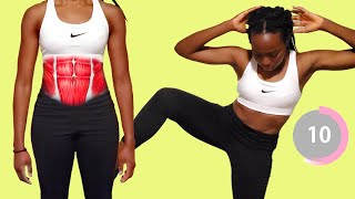 LOVE HANDLES & BELLY FAT WORKOUT   Standing Only - Home Workout