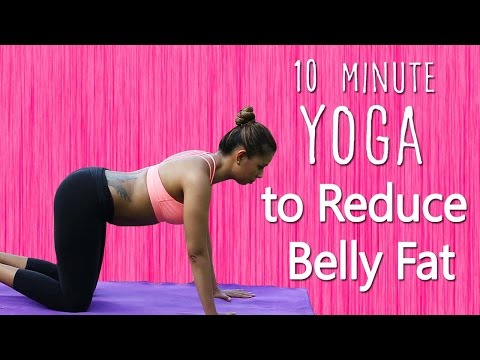 10 Minutes Belly Fat Workout |HowTo Lose Stomach Fat Fast For Women|Simple Yoga Asanas For Beginners