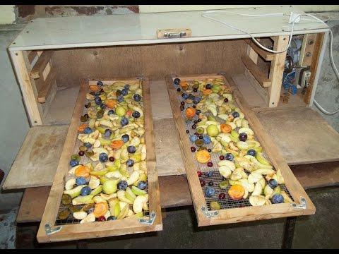 Сушилка для овощей и фруктов своими руками на ТЭНах