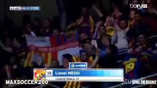 Lionel Messi Hat Trick Goals Highlights Vs Real Madrid El Clasico 23/03/2014