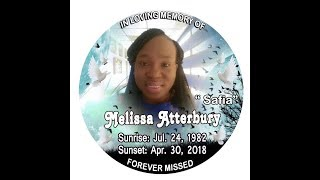 Thanksgiving Service for the life of Melissa Atterbury Lawson