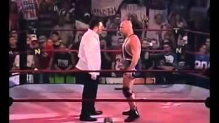 Kurt Angle TNA Debut [2006] confronts world champ Samoa Joe