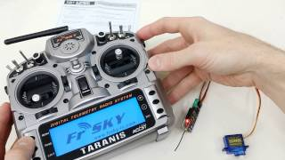 How to bind FrSky V8R4-II to Taranis X9D
