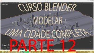 PARTE 12 #TERRENO DO BAIRRO\ Criar Cidade Inteira No Blender   PT-BR - HD
