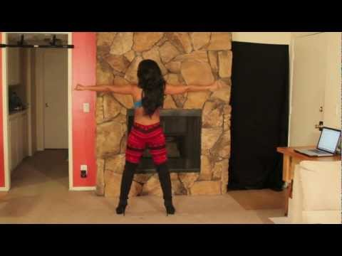 Valentines Day Sexy Dance Workout twerk Out With Keaira Lashae video