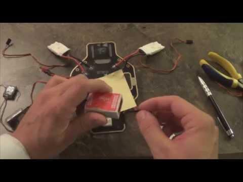 How to Wire DJI Naza-M 1/2 & Lite(With Spektrum Receiver)