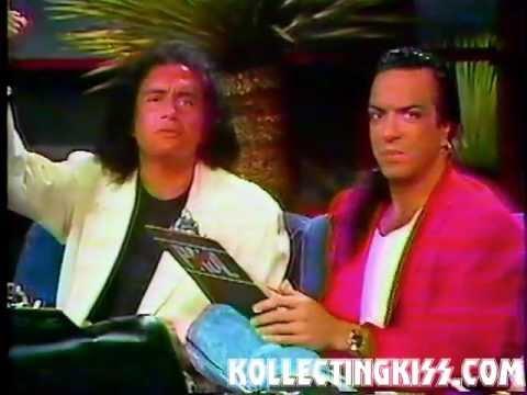 KISS : 1988 Dr Joyce Brothers, Gene Simmons, Paul Stanley