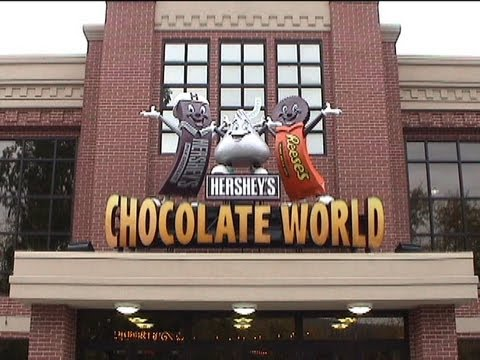 Hershey s Great American Chocolate Tour Omnimover Dark Ride, Hershey s Chocolate World, Hershey PA