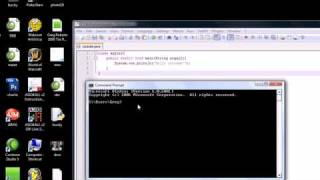 Java Programming Tutorial - 2 - Running a  Java Program