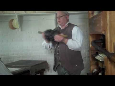 Colonial Williamsburg - Printing Press - Part 1