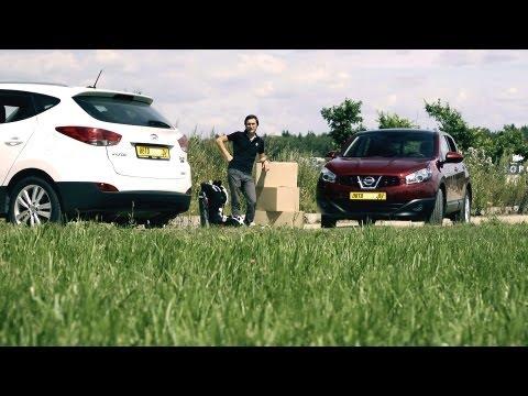 Тест-драйв: Hyundai ix35 против Nissan Qashqai