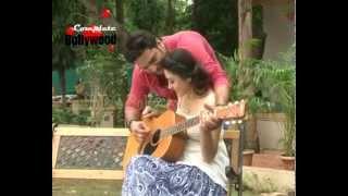Anchal Singh, Ankit Saraswat at On Location of Music Video 'Hai Tu   Mehfil Ki In Shaamon Mei' Frien
