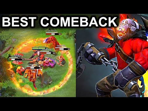 BEST COMEBACK AXE PATCH 7.10 DOTA 2 NEW META GAMEPLAY #46 (CARRY AXE BUTTERFLY AND BATTLEFURY)