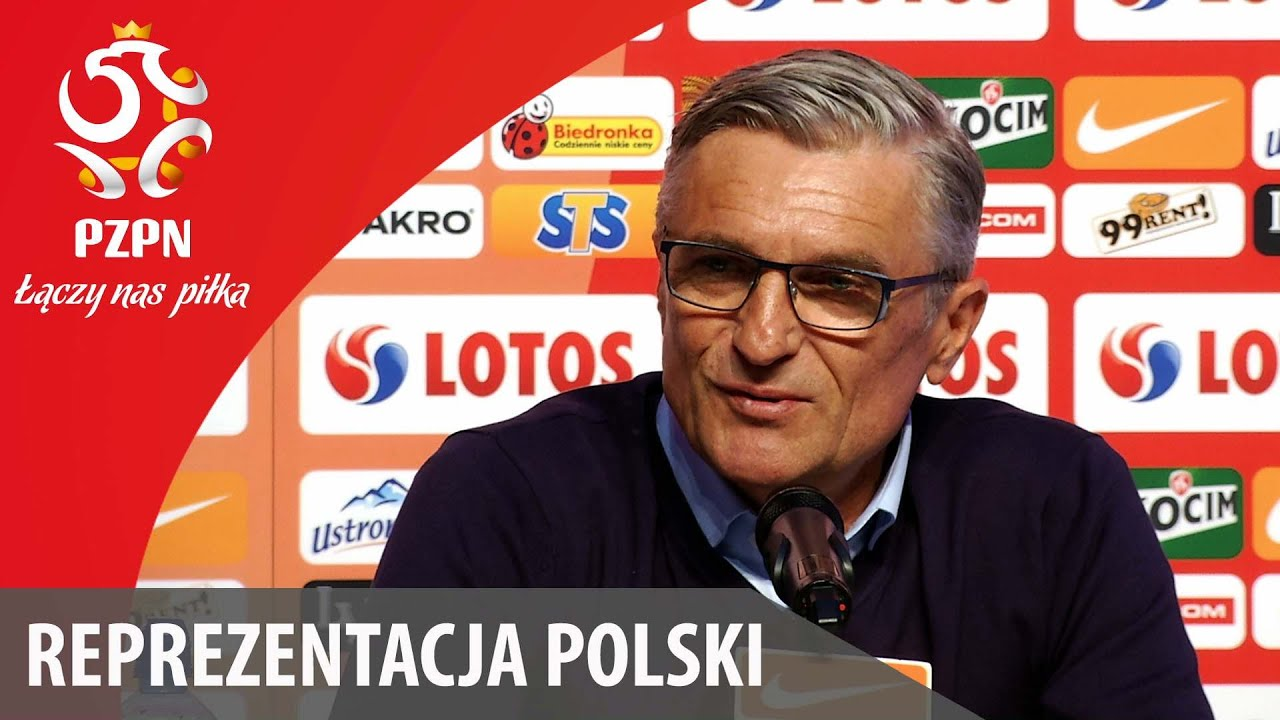 Konferencja po meczu z Litwą (6.06.2016)