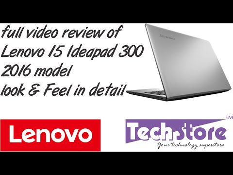 lenovo ideapad 300 2016 latest full video review in HD look and feel usb webcam speaker unboxing