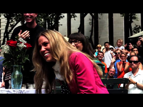 SURPRISE ENDING - Flash Mob Marriage Proposal